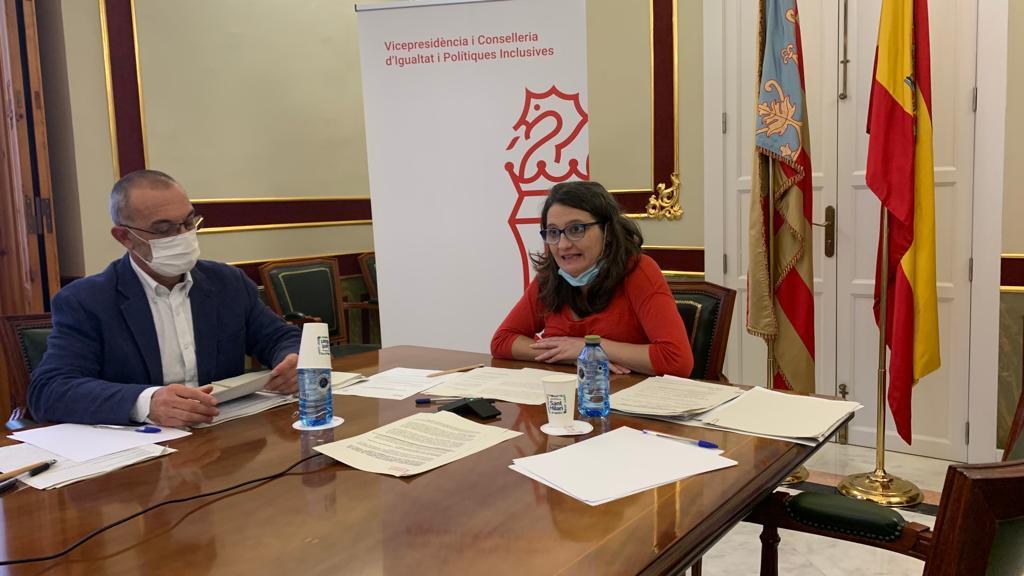 El Pacte Valencià contra la Violència Masclista celebra su cuarto aniversario con un grado de ejecución del 91 %