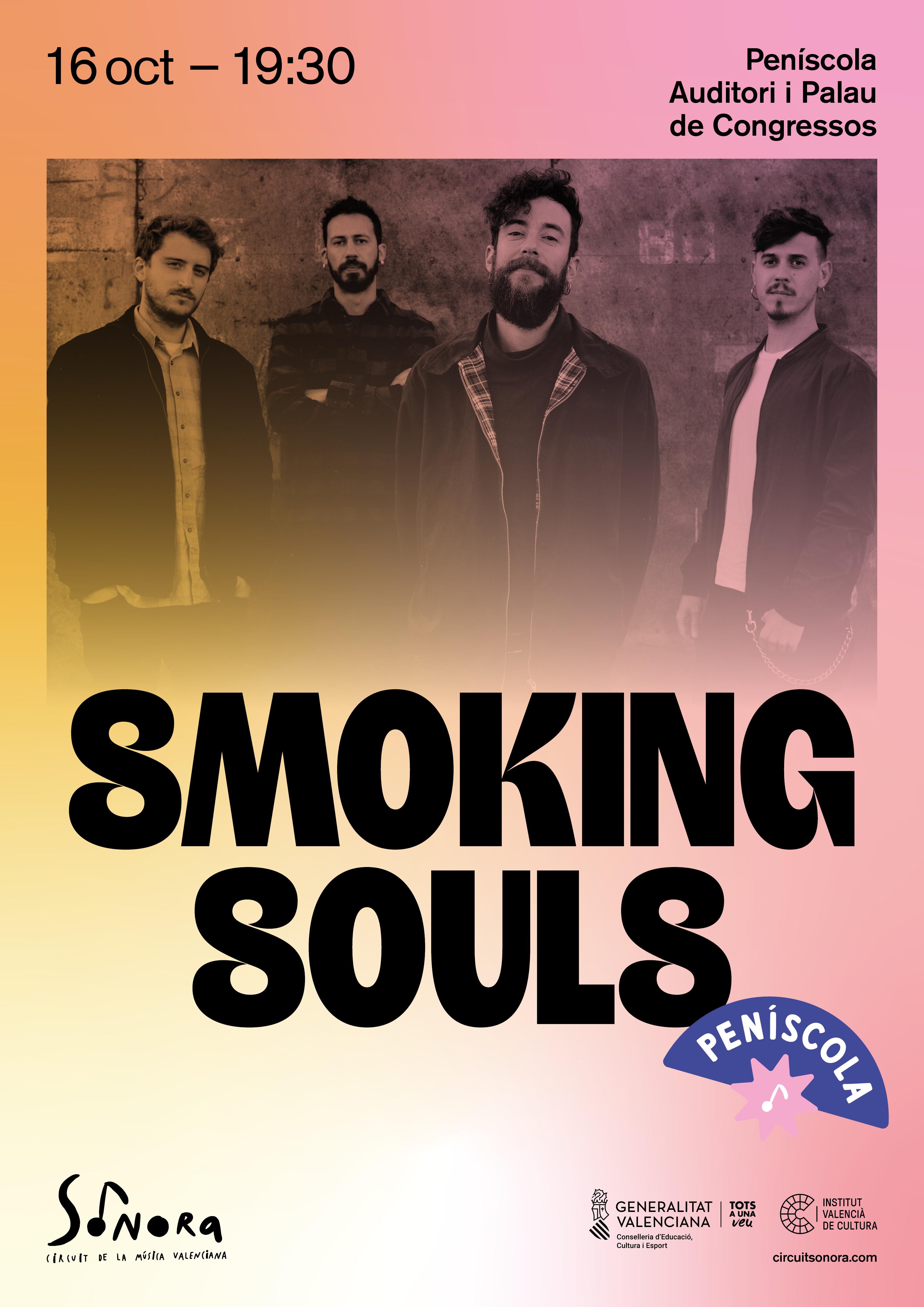 Sonora enceta a Peníscola amb Smoking Souls i Dani Miquel