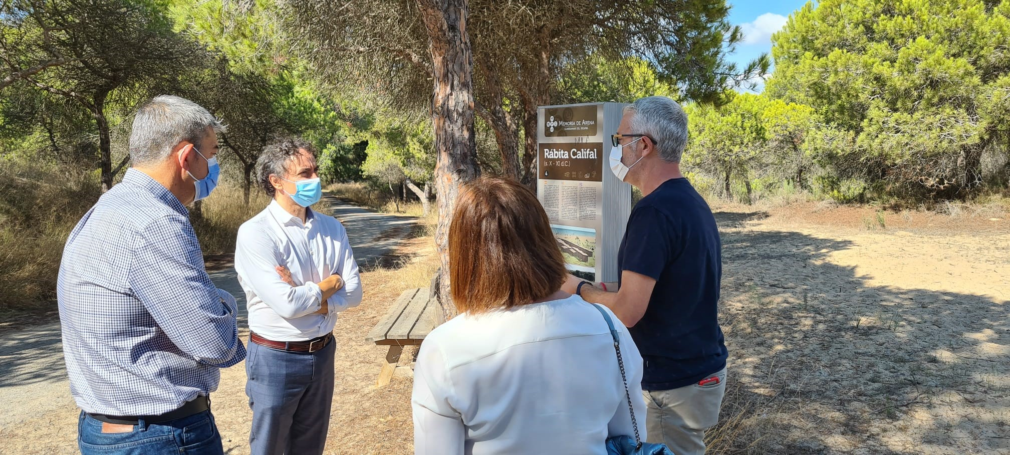 Colomer visita Guardamar del Segura per a conéixer les millores del seu patrimoni cultural i històric