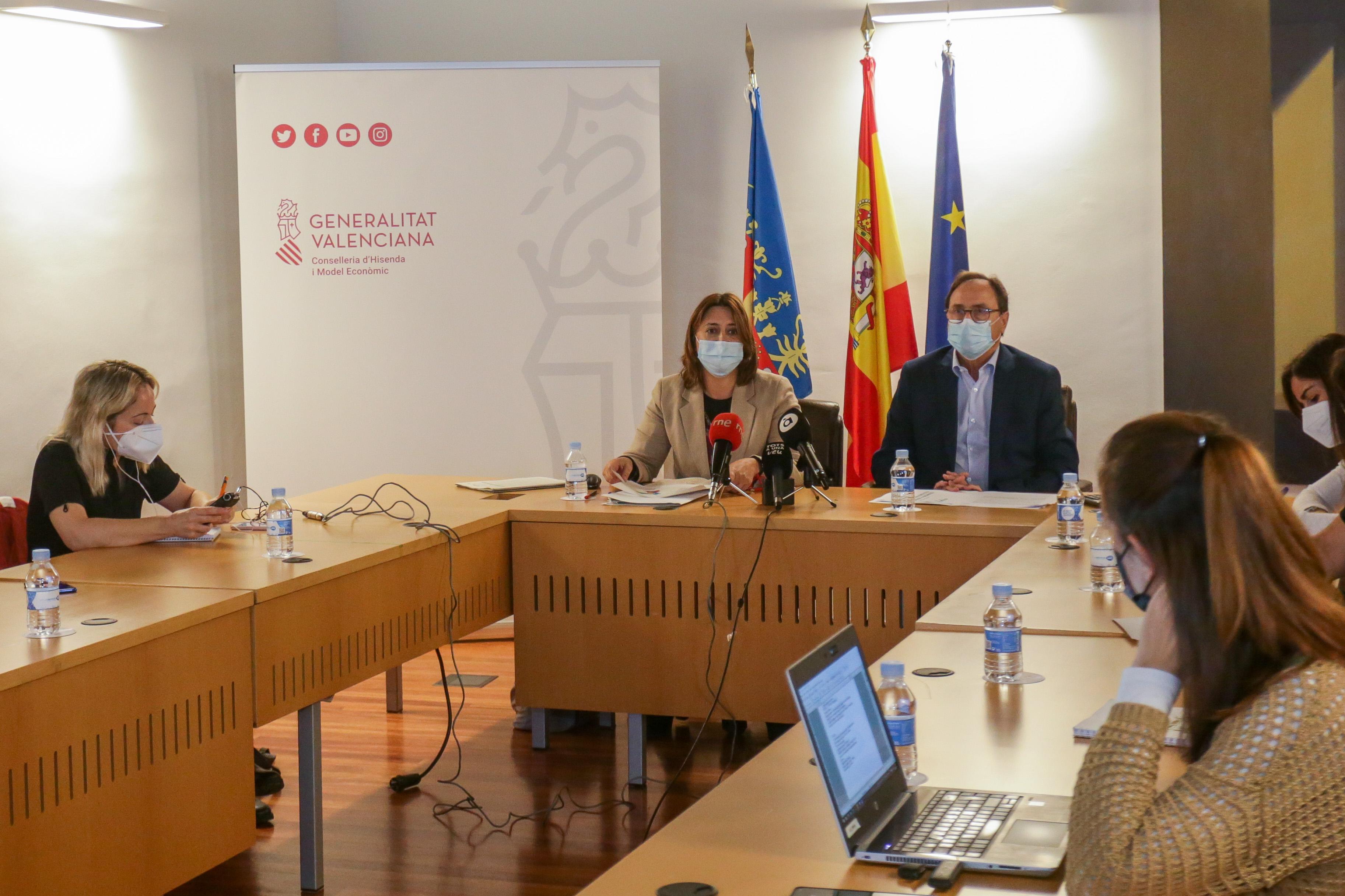 Los primeros presupuestos participativos de la Generalitat destinan más de 100 millones de euros a 96 proyectos de la ciudadanía