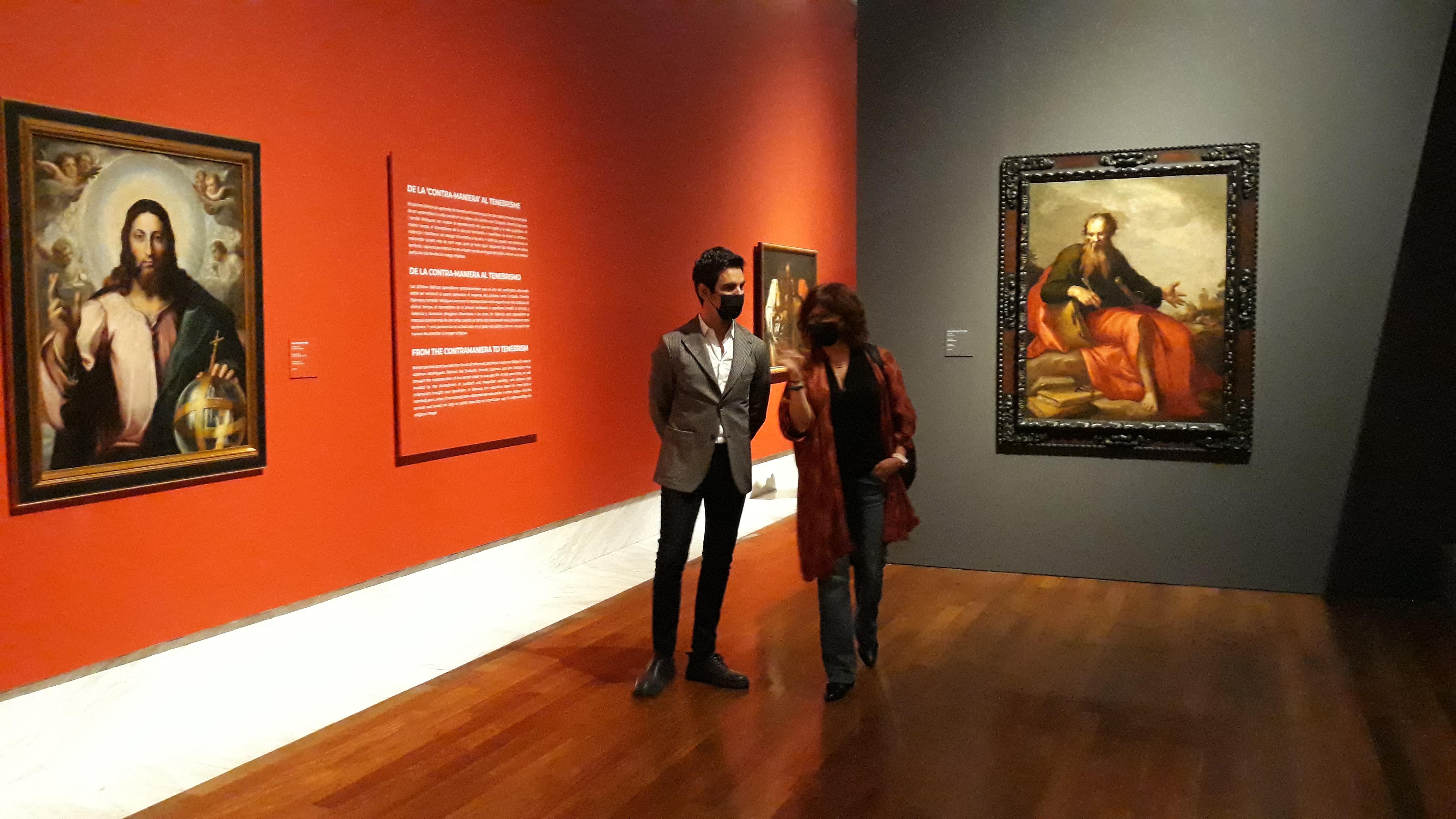 """El Museu de Belles Arts mostra la seducció visual del Barroc en l""""exposició """"Creure a través dels ulls"""""""